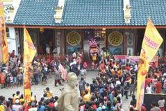 Celebración del Año Nuevo chino en la ciudad de Semarang Fotos de archivo