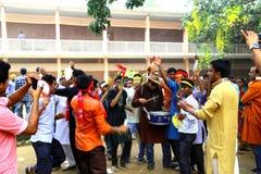 Celebración 1422 del Año Nuevo de Bangladesh Foto de archivo libre de regalías