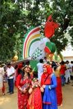Celebración 1422 del Año Nuevo de Bangladesh Imagen de archivo