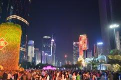 Celebración del Año Nuevo de China Fotos de archivo libres de regalías