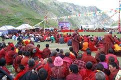 Celebración del Año Nuevo de Tíbet Foto de archivo libre de regalías