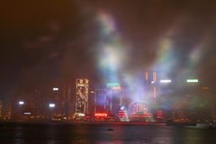 Celebración del Año Nuevo en Hong Kong 2016 Foto de archivo libre de regalías