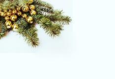 Celebración del Año Nuevo, materia del día de fiesta de la Navidad, árbol, juguetes, decoración Imagenes de archivo
