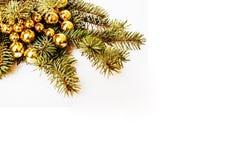 Celebración del Año Nuevo, materia del día de fiesta de la Navidad, árbol, juguetes, decoración Fotos de archivo libres de regalías