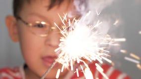Celebración del Año Nuevo y de la Navidad almacen de video