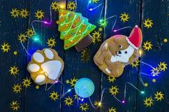 Celebración del año del perro Año de amistad y de amabilidad Imagenes de archivo