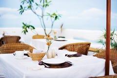 Celebración del banquete que cena concepto de la elegancia del diseño imagenes de archivo