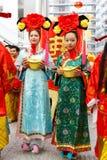 Celebración del CNY Imagen de archivo