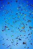 Celebración del confeti fotografía de archivo