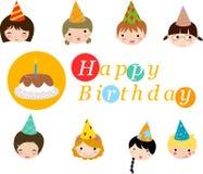 Celebración del cumpleaños Imagenes de archivo