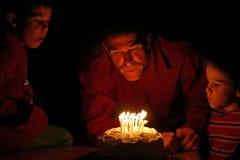 Celebración del cumpleaños Imagen de archivo libre de regalías