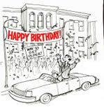 Celebración del cumpleaños libre illustration