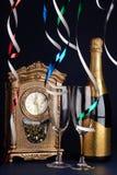 Celebración del día de Año Nuevo Fotos de archivo