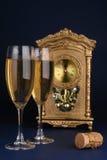 Celebración del día de Año Nuevo Imágenes de archivo libres de regalías