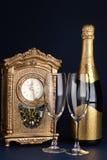 Celebración del día de Año Nuevo Fotos de archivo libres de regalías