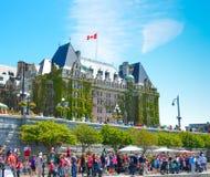 Celebración del día de Canadá Imagen de archivo