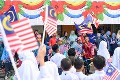 Celebración del Día de la Independencia Imagenes de archivo