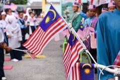 Celebración del Día de la Independencia Imagen de archivo libre de regalías