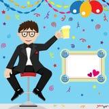 Celebración del día de padre Imagen de archivo libre de regalías