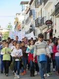 Celebración del día de paz Imagen de archivo libre de regalías