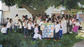 Celebración del día de paz Imagenes de archivo