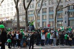 Celebración del día de San Patricio en New York City Imagen de archivo libre de regalías