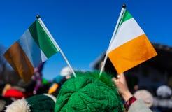 Celebración del día de St Patrick foto de archivo libre de regalías