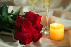 Celebración del día de tarjetas del día de San Valentín Imagenes de archivo