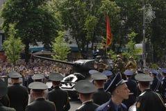 CELEBRACIÓN DEL DÍA DE UNA VICTORIA en Kiev Foto de archivo libre de regalías