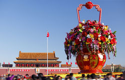 Celebración del día nacional de China Foto de archivo