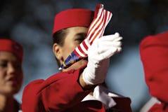 Celebración del día nacional de Malasia Fotografía de archivo