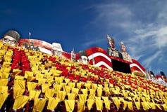 Celebración del día nacional de Malasia Fotografía de archivo libre de regalías