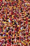 Celebración del día nacional de Malasia Imagen de archivo libre de regalías