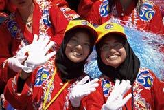 Celebración del día nacional de Malasia Fotos de archivo libres de regalías