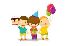 Celebración del feliz cumpleaños Imagenes de archivo