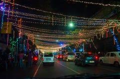 Celebración del final de año y de Nochevieja Foto de archivo libre de regalías