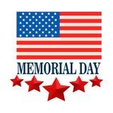 Celebración del Memorial Day de U S A Foto de archivo