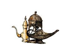 Celebración del partido de Ramadan Kareem Iftar, Eid Al Fitr Mubarak, ejemplo dibujado mano del vector del bosquejo Foto de archivo