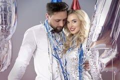 Celebración del ` s Eve del Año Nuevo Fotos de archivo