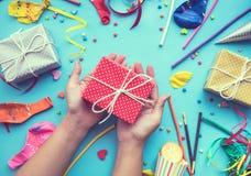 Celebración, ideas de los conceptos de los fondos del partido Fotografía de archivo libre de regalías