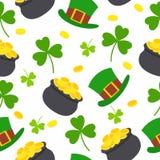 Celebración inconsútil de St Patrick Fotos de archivo
