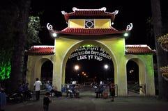 Celebración lunar china del Año Nuevo de Tet en Ho Chi Minh, Vietnam Imagenes de archivo