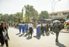 Celebración malgache del carnaval foto de archivo libre de regalías