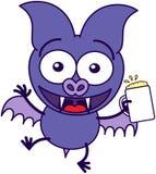 Celebración púrpura con la cerveza libre illustration