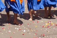 Celebración sikh de la gente fotografía de archivo