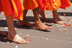 Celebración sikh de la gente fotos de archivo