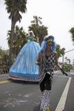 Celebración y desfile anuales del solsticio de verano junio de 2007 Fotografía de archivo
