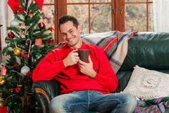Celebración de la Navidad Imágenes de archivo libres de regalías