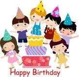 Celebración del cumpleaños Foto de archivo libre de regalías