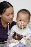 Celebración del cumpleaños Fotografía de archivo libre de regalías